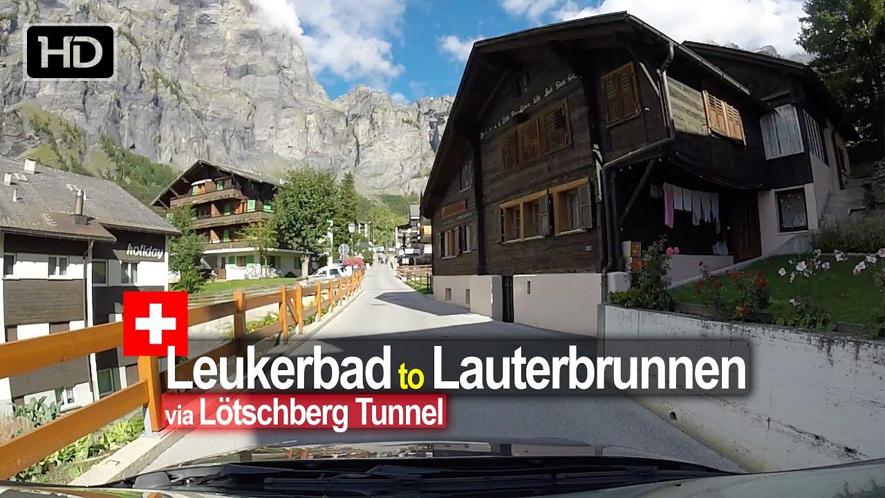 Leukerbad to Lauterbrunnen – Scenic Drive Switzerland!