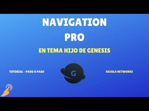 , title : 'Theme Navigation Pro de Genesis'