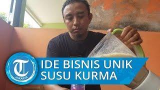Menengok Usaha Rumahan Susu Campur Kurma di Tangerang, Pertama dan Bersertifikasi Halal