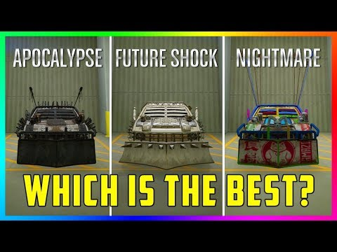 Apocalypse VS Future Shock VS Nightmare - Which Is The BEST Arena War Vehicle Type In GTA Online?