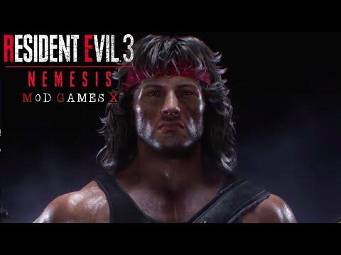 Resident Evil 3 RE MOD - Rambo