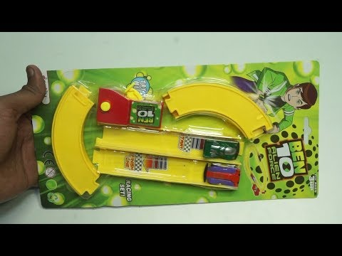 Ben 10 Alien Force  Track Racing  For Kids