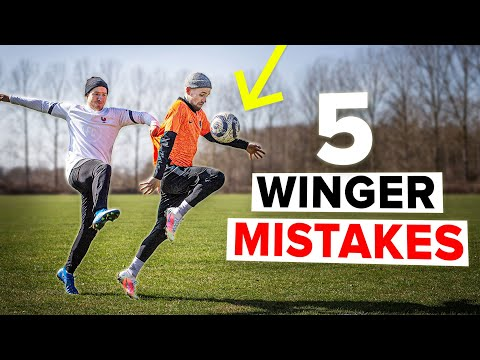 5 COMMON MISTAKES YOUNG WINGERS MAKE & how to avoid them