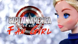 Unbox Daily: Captain America Fan Girl Doll By Madam Alexander | Cosplay For Your Dolls!