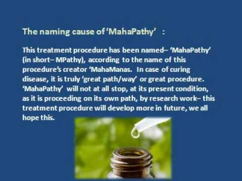 MahaPathy : A super-excellent system of medicine for universal treatment