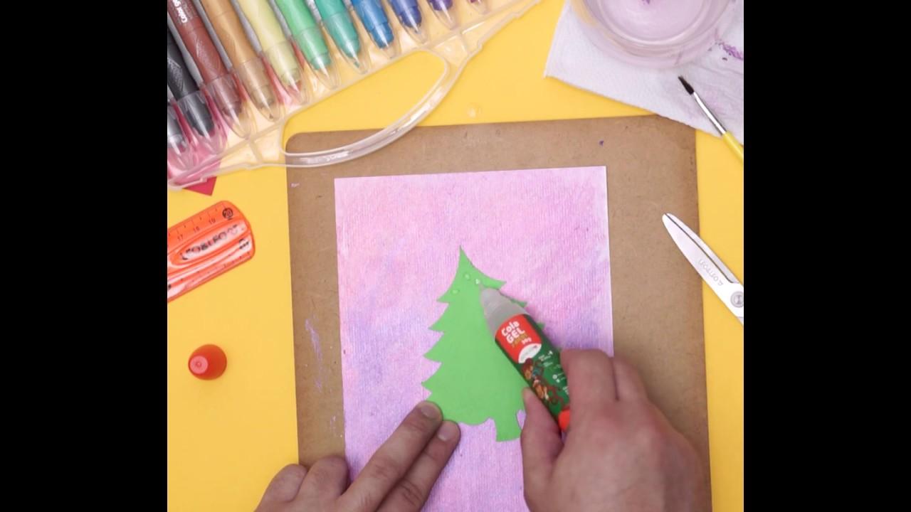 Cartão de Natal com a Leo&Leo