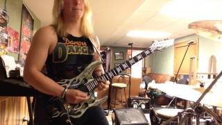 I still think about you (guitar solo) - danger danger cover