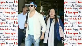 Varun dhawan mother's day special