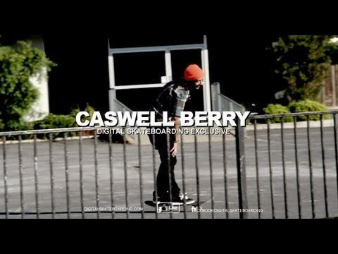 Caswell Berry Wallie Pole Jam Late Shuv Digital Skateboarding