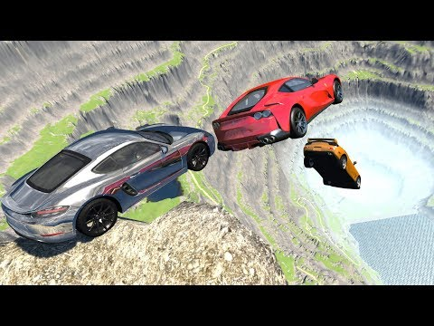 Cliffs Of Death #16 - BeamNG Drive Cliff Jumps