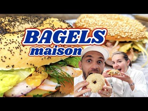 BAGELS : La recette des Bagels maison en 2h !!