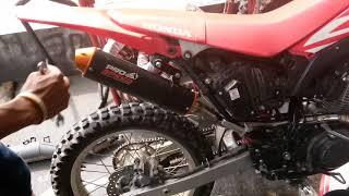 Knalpot  CRf 150 L Pro Speed sx