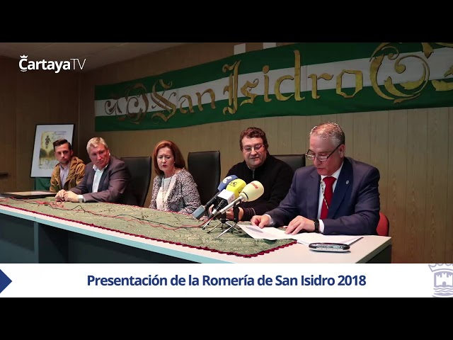 Presentación Romería de San Isidro de Cartaya 2018