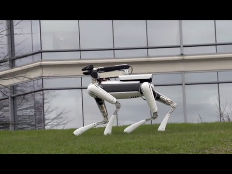 WALKING ROBOT DOG - Spot Mini..! Amazing Build!