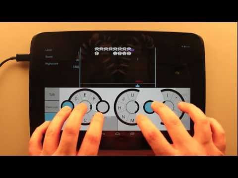 Slice Circular Keyboard For Android Tablets Lets You Type Faster