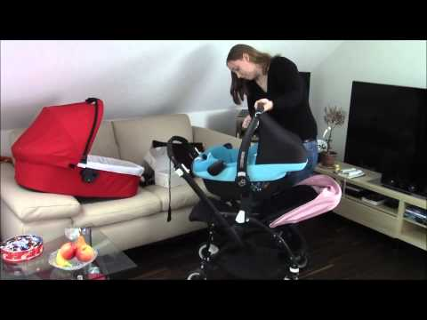 bugaboo bee+ et adaptateurs cosy