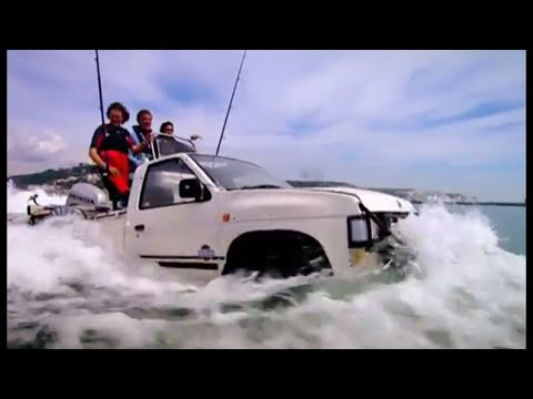 Crossing The Channel In Car Boats! (HQ) | Top Gear | Series 10 | BBC