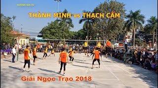 Bóng chuyền Thạch Thành 2018 | Thành  Minh vs Thạch Cẩm- Sec  2