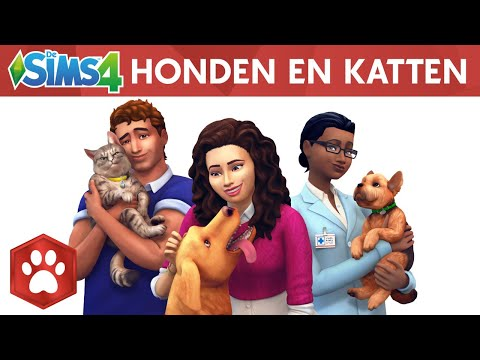 Onthullings video Sims 4 - Honden en Katten