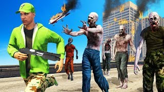 Playing GTA 5 In A ZOMBIE APOCALYPSE! (Scary)