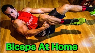 Intense Tabata At Home Bicep Workout (HIIT) by Anabolic Aliens