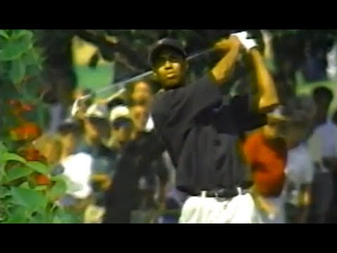 Tiger Woods Milwaukee 1996 Second Round
