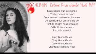 ♕ Glory Alleluia [Céline Dion] 1981