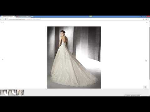Diseño de página web Jaén. Web para tienda de vestidos de novia