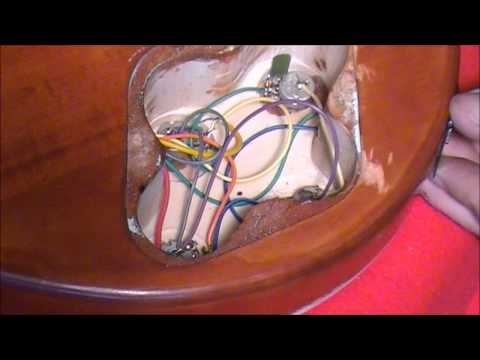 SOLDERING PICK-UPS TO A LP-1 OR MB-1 (PART 3)