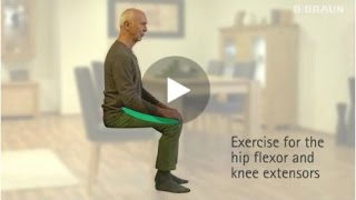 Exercise for the hip flexor and knee extensors
