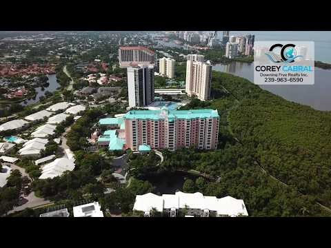 Pelican Bay, Glenview Condo High Rises in Naples, Florida fly over video