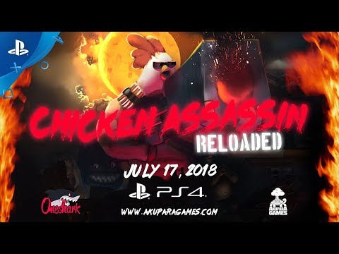 Chicken Assassin: Reloaded – Announcement Trailer | PS4