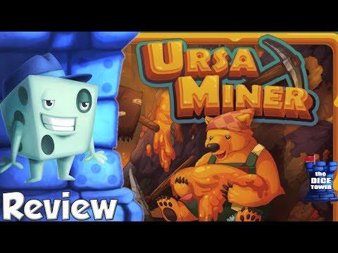 Ursa Miner Review - with Tom Vasel