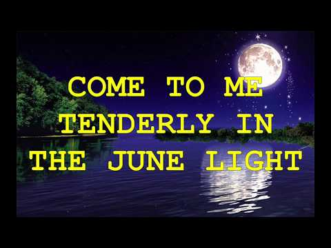 MOONLIGHT SERENADE  By Carly Simon (with Lyrics)