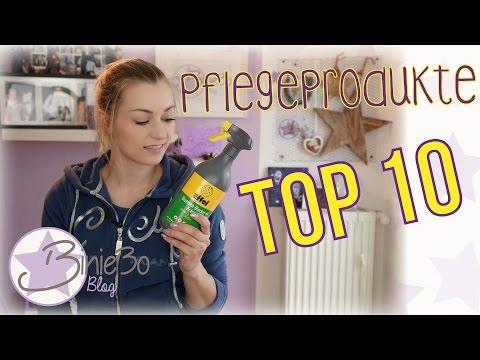 TOP 10 Pflegeprodukte! |#equipment
