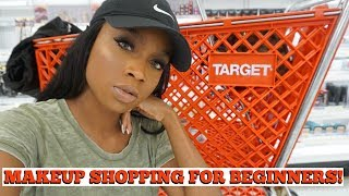 Drugstore Makeup SHOPPING for Beginners | Makeup Starter Kit | Target - Video Youtube