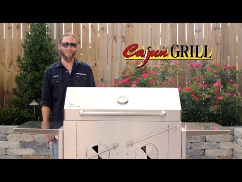 Cajun Preaux Charcoal Grill Overview | All 304 Stainless BBQ | BBQGuys.com