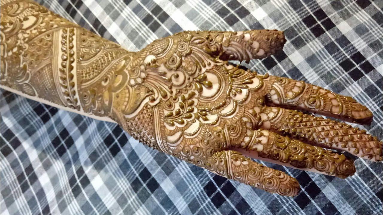 Video Bridal Henna Design 1