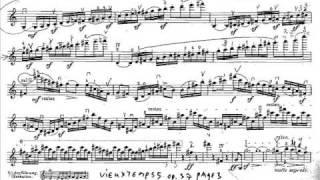 Vieuxtemps, Henry 5th violinc. mvt1(begin) Allegro non Troppo