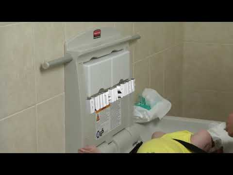 Product video for Baby Changing Station   Horizontal