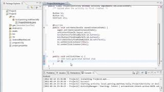 Android: Project 2(v4) - Conditional If Statements for onClick()