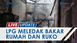 Kronologi Kebakaran Hanguskan 1 Warung dan Rumah di Lampung, Bermula Pegawai Goreng Ayam