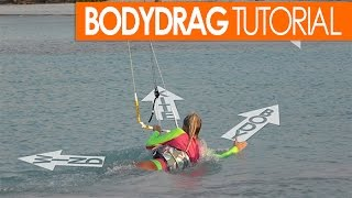 #8 Kiteboarding  Beginner – Bodydrag tutorial