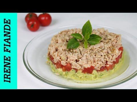 Салат с авокадо рецепт. Очень Вкусный салат с тунцом и авокадо(Irene Fiande)