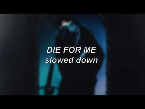 Post Malone ft. Future & Halsey – Die For Me | Slowed Down