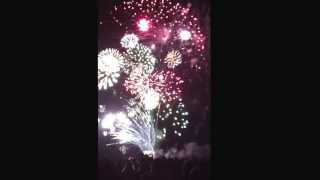 preview picture of video 'Silvesterfeuerwerk in St. Peter-Ording'