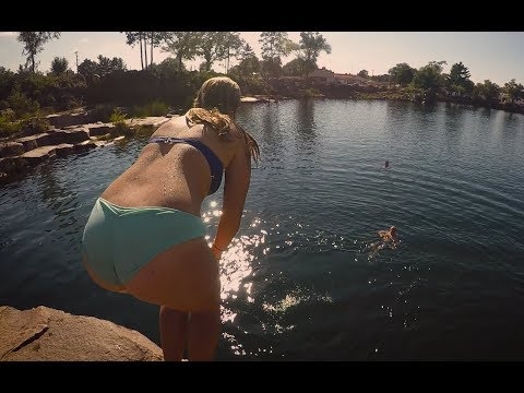 Video dan mp3 Cliff Jumping Fails At Red Granite 2018