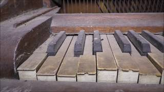 #27 Abandoned home with amazing Antique PIANO inside!