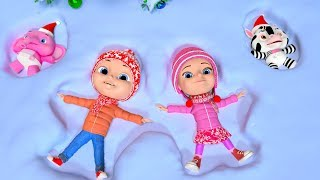 Deck The Halls | Christmas Carols & Xmas Songs for Children | Cartoon Song by Little Treehouse