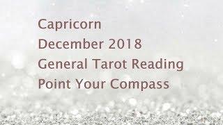 IT'S GOING TO HAPPEN Capricorn December 2018 General Tarot Reading